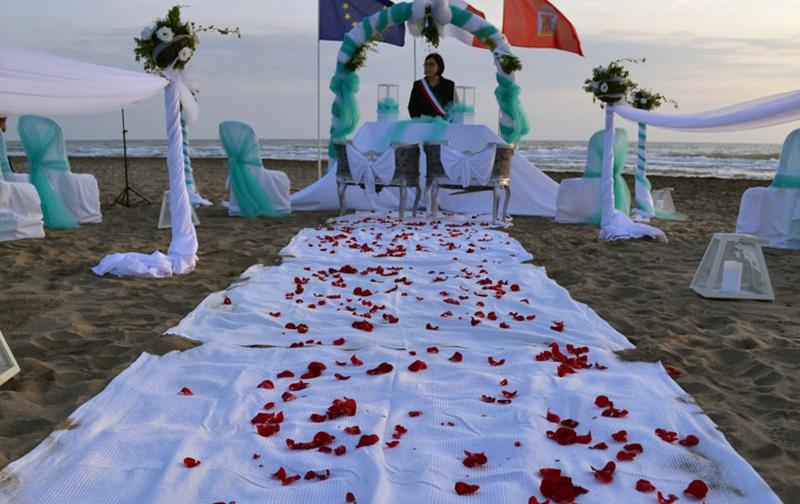 La Scialuppa Fregene Cerimonie spiaggia
