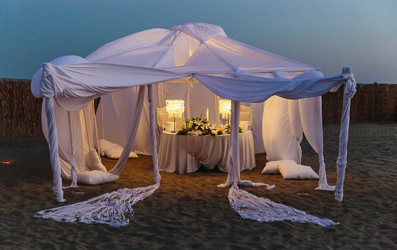 La Scialuppa Fregene Weddings spiaggia