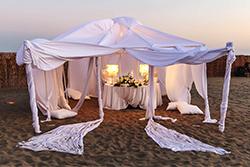 Matrimonio in spiaggia La Scialuppa Fregene